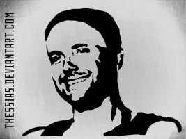 Paul Landers Stencil by thessias