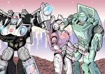 Prowl, Arcee and Kup by J-Rayner