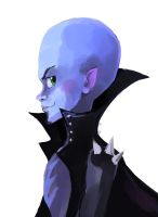 Sketch of Megamind by fluffy-fuzzy-ears