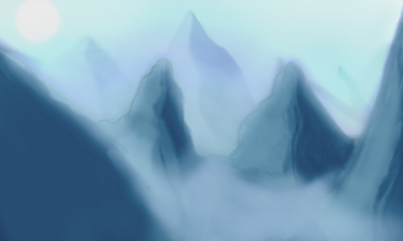 Mountainscape by DrSulfurious