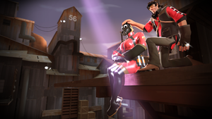 {SFM} The Hat that brought us Together by deadlysupia