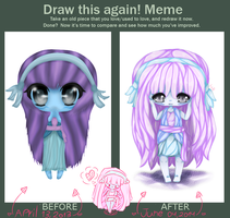 Meme: Before and after by lmsubscribing
