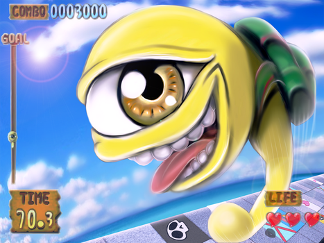 Monster Rancher Hop-A-Bout by BlackExcell