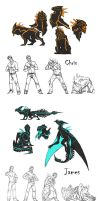 Sketchdump. by Lurelin