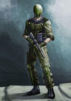 Soldier Concept by SimonGangl
