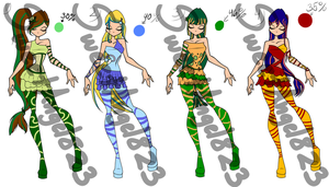 Winx Sirenix Outfit Adoptables by Sweetangel823