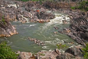 Great Falls III - HDR by somadjinn
