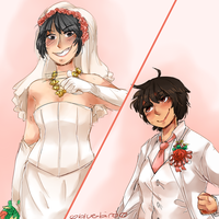 Teppu- You May Now KO The Bride by Sogequeen2550