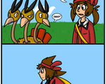 Dodrio Fly by ColonelCheru