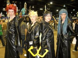Organization XIII Cosplay by KitsuneHime89