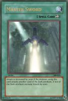 Master Sword Yu-Gi-Oh Card by Ronnie-R15