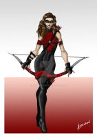 Thea Queen - Speedy/Red Arrow by ADL-art