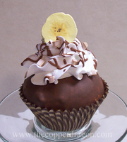 """Chocolate Banana"" FakeCupcake by TheCopperDragon2004"