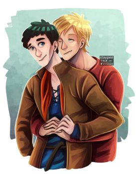 merthur hug by staypee