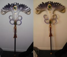 Finished Yuna Staff by bananapanik