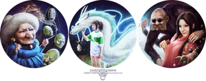 Spirited Away by Darey-Dawn