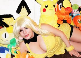 Pichu 07 by HeatherCosplay