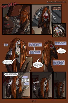Woman Scorned pg 3 by DrawDrone