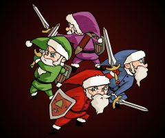 The legend of Z ehm Santa D: by Sinapi