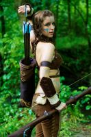 Woad Ashe Cosplay 3 by aeneia