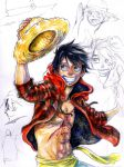 Luffy with Progress by Zinfer