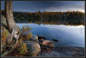 Fall at Lake of Bays by IgorLaptev