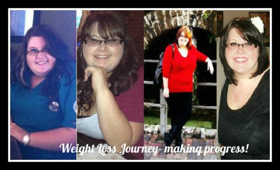 weight loss journey by CrZYchick