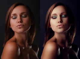 Before and After Retouch 3 by ale2xan2dra