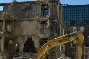 American Demolition by Lomo440