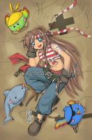 Mascote Anime Guara by Aru-Metalhead
