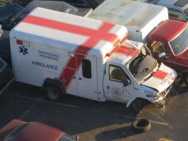 An ambulance in need of one. by Regenstock
