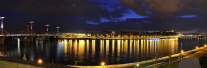 The Danube in Budapest by Alex230