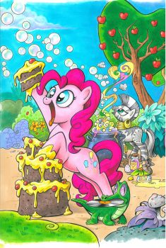 My Little Pony issue 1 Cover C by andypriceart