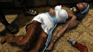 Sleeping Isabela by masterpogo
