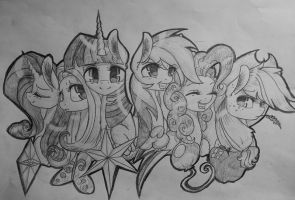 The Main Six [Old] by TheMoonRaven