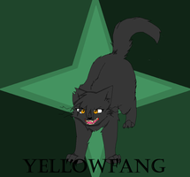 Yellowfang by anime-animal