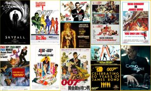 Best James Bond Movie Posters by EspioArtwork31