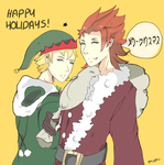 Happy Holidays by redtora
