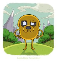 Jake the Dog by barlmobile
