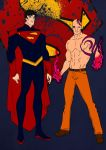 Superman Year One-Superman and Parasite by Comicbookguy54321