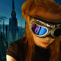 World Domination SciFi Goggles by SteamSociety
