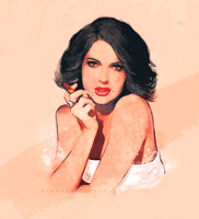 Lana Parrilla by ohnaevia