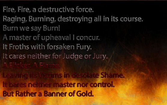 Banner of Gold by LadyJaney01