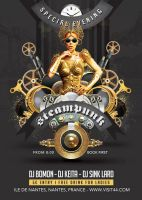 Steampunk Modern Festival Special Party in Club by n2n44