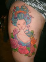 oiran by SimplyTattoo
