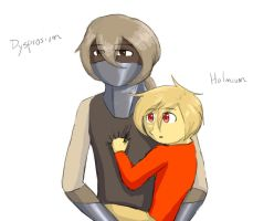 Dysprosium and Holmium by TheClockworkKid