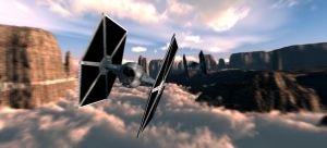 tie fighters by ashasylum