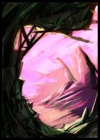 Cristal cave - Speed painting by jamga