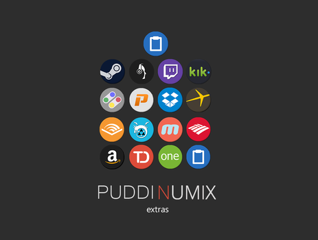 puddinumix extra icons by sharethepudding