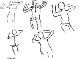 Practice human dynamic pose bf by gtstyling32